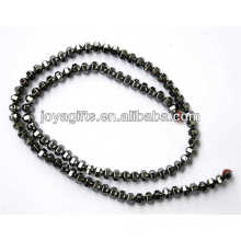 Natural hematite 6*4MM loose beads for jewelry
